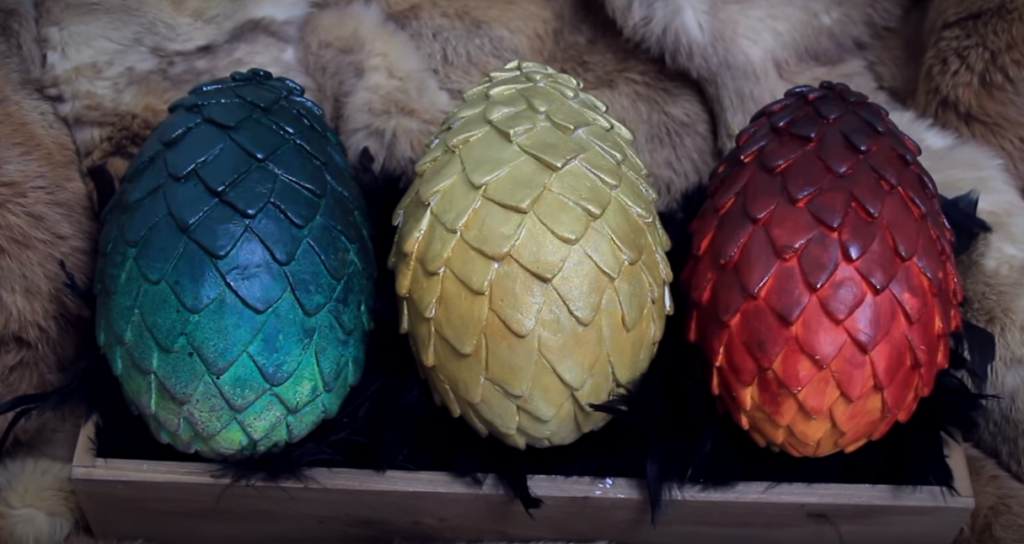 oeufs de Pâques Game of Thrones