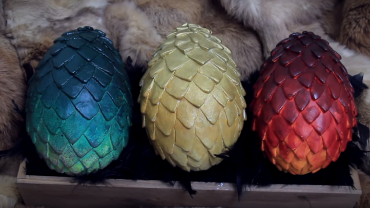 oeufs de Pâques Game of Thrones