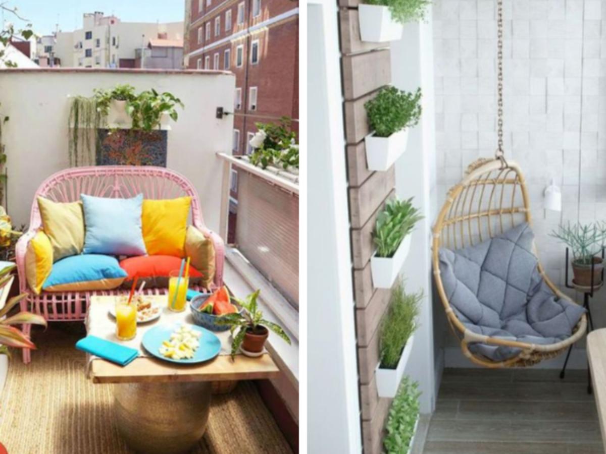 Table Pour Balcon Étroit petit balcon : 16 idées pour l'aménager en coin de paradis