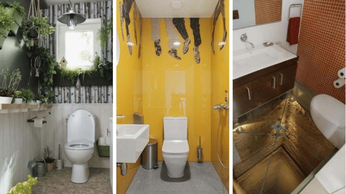 Comment Decorer Les Wc toilettes : 8 idées de décorations très (trop) originales