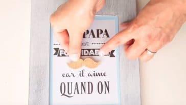 cadre papa