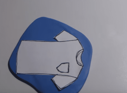 porte-clefs en pâte polymère