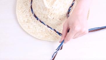 personnaliser chapeau de paille