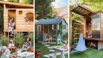 cabane jardin enfants