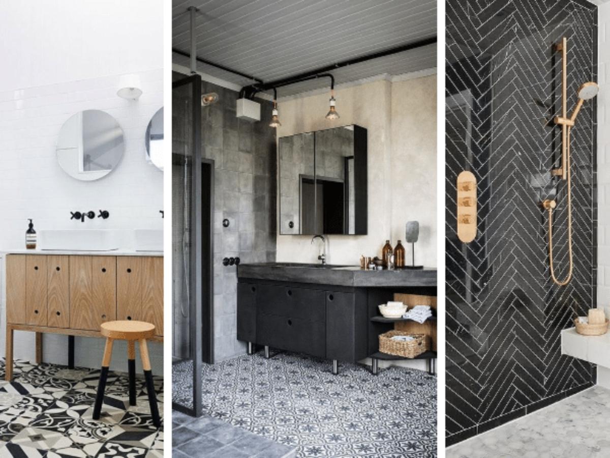 Photo De Salle De Bain Noir Et Blanc salle de bains : 18 inspirations élégantes en noir et blanc