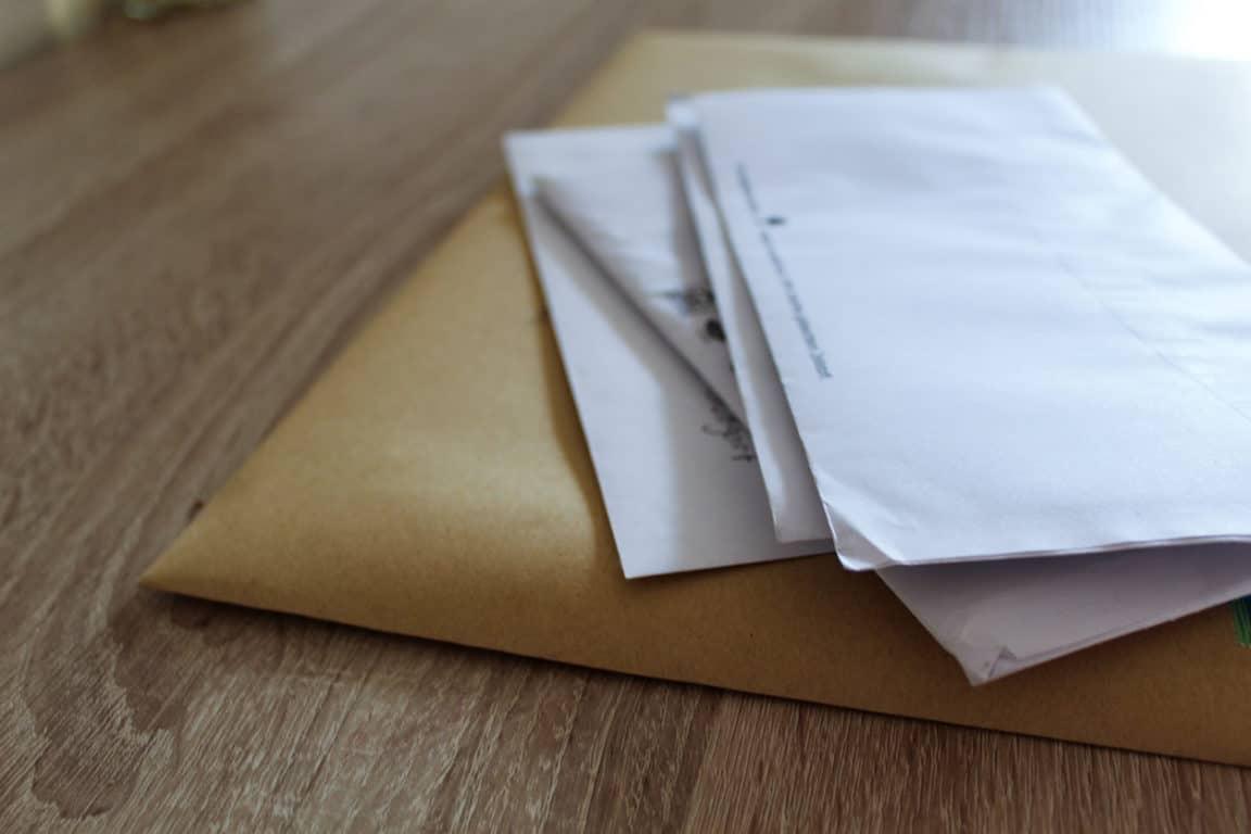 courrier lettres