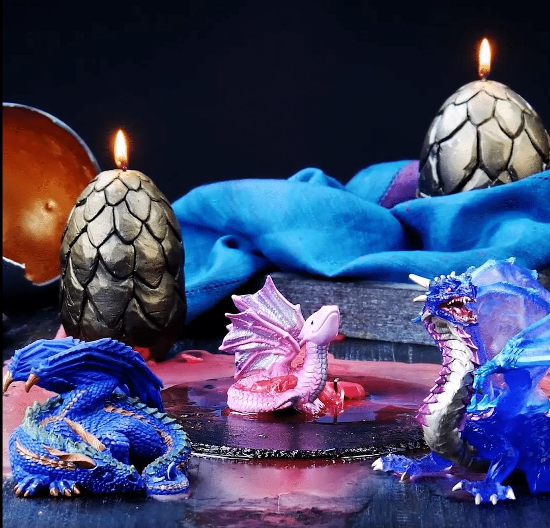 bougies dragon