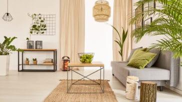 décoration écologique intérieur maison meubles
