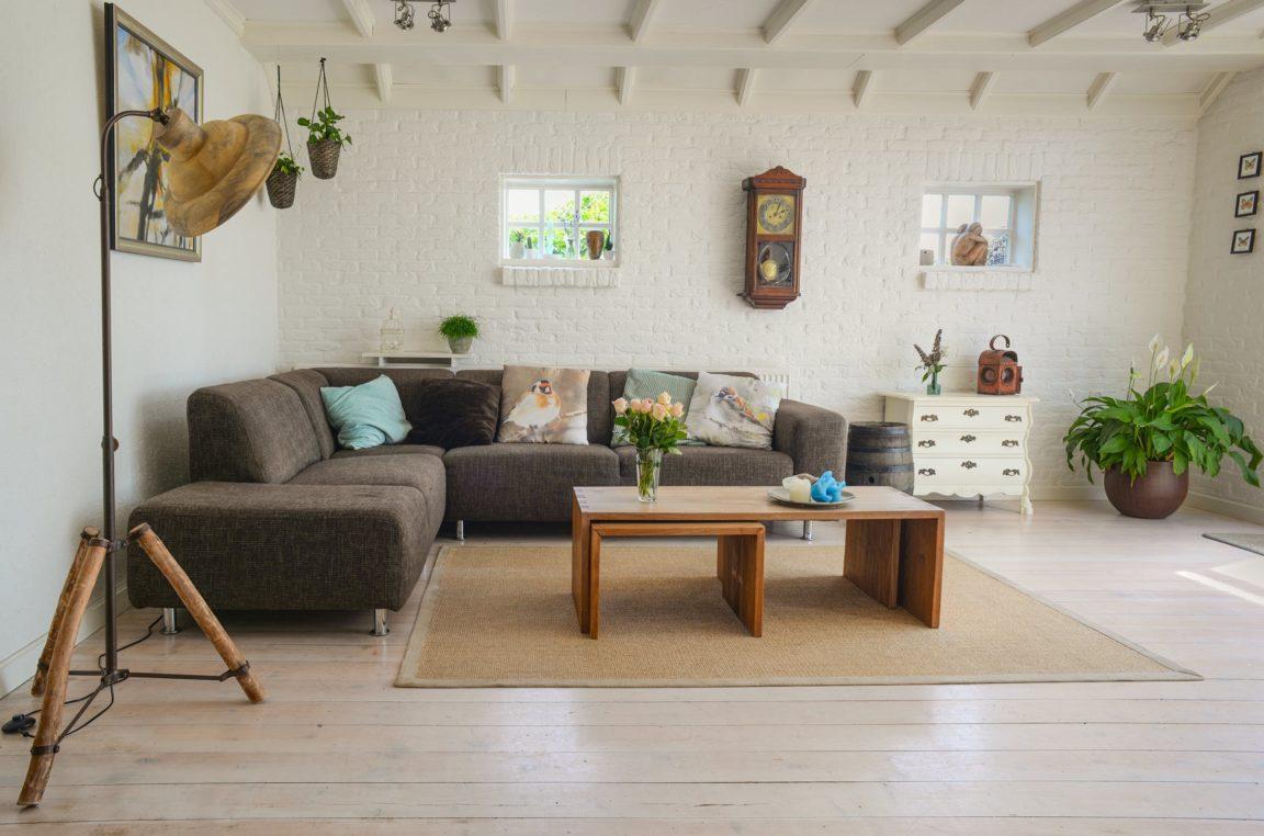 intérieur chaleureux salon