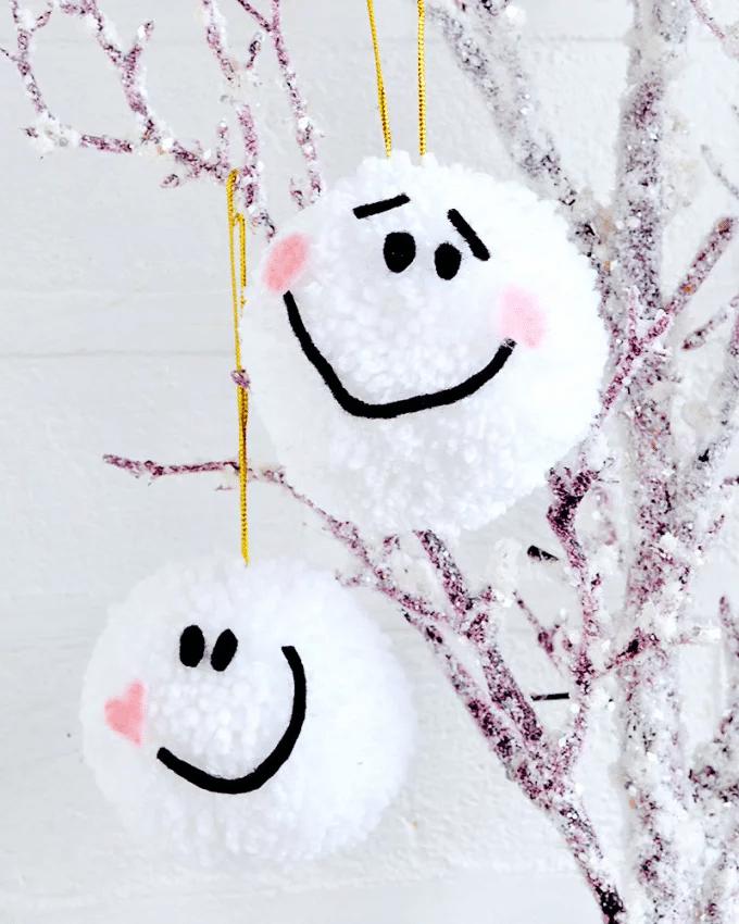 bricolage enfants Noël décoration