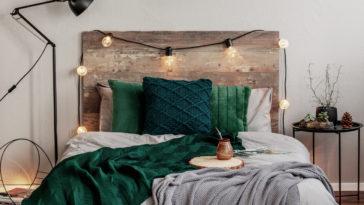tête de lit en bois cocooning